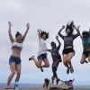 天国の海ラニカイビーチを見下ろすピルボックス
